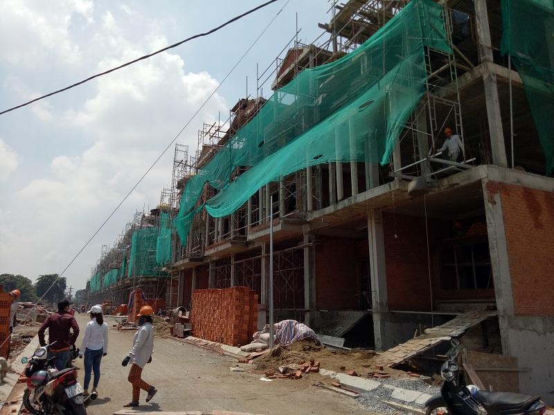 Tiến độ thực tế dự án Cityland Park Hills tháng 8.2017