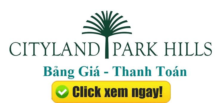 Mở bán dự án Cityland Park Hills