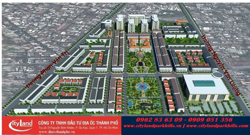 Dự án Cityland Park Hills City Gò Vấp