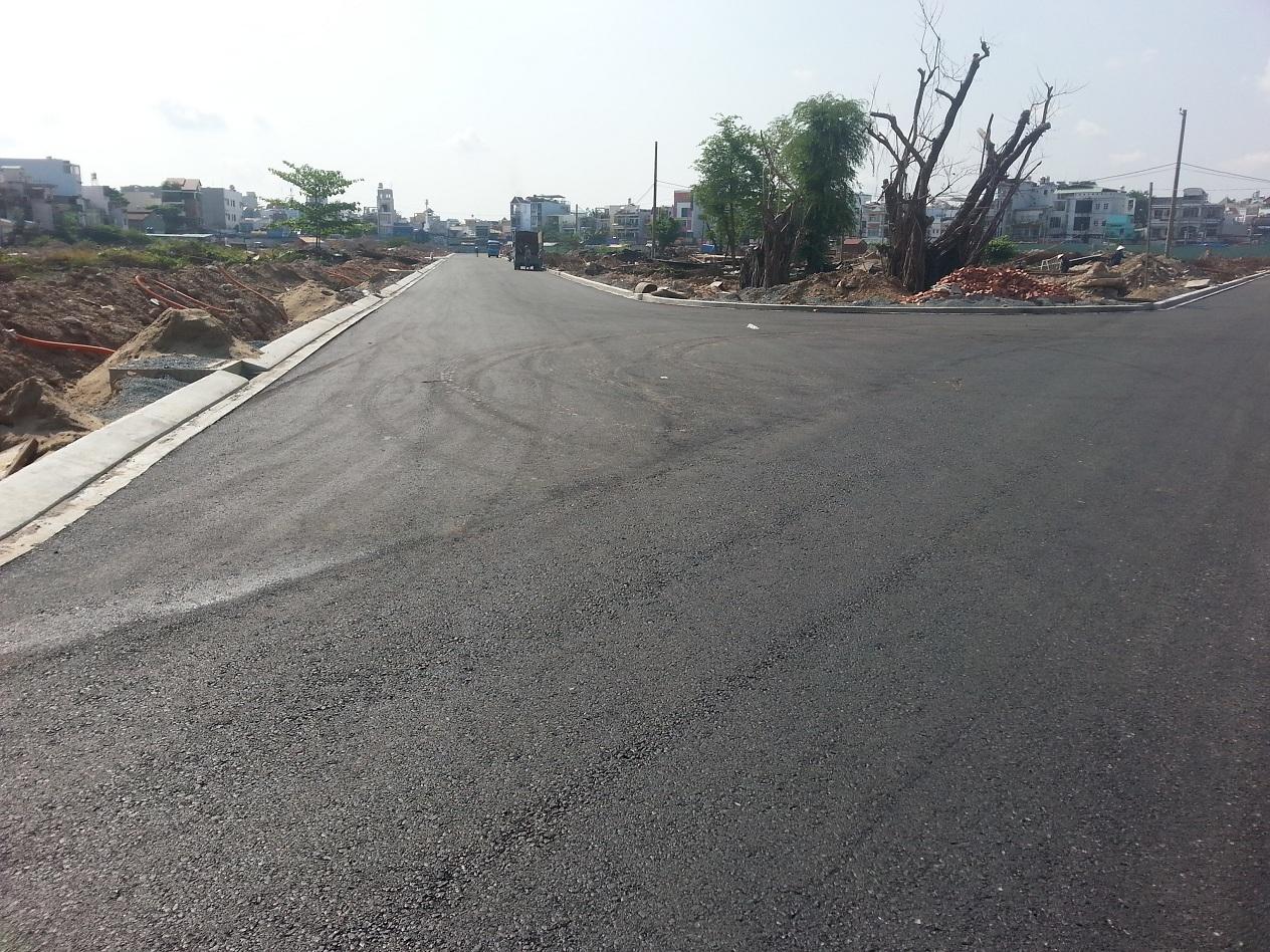 Đường D3 dự án Cityland Center Hills