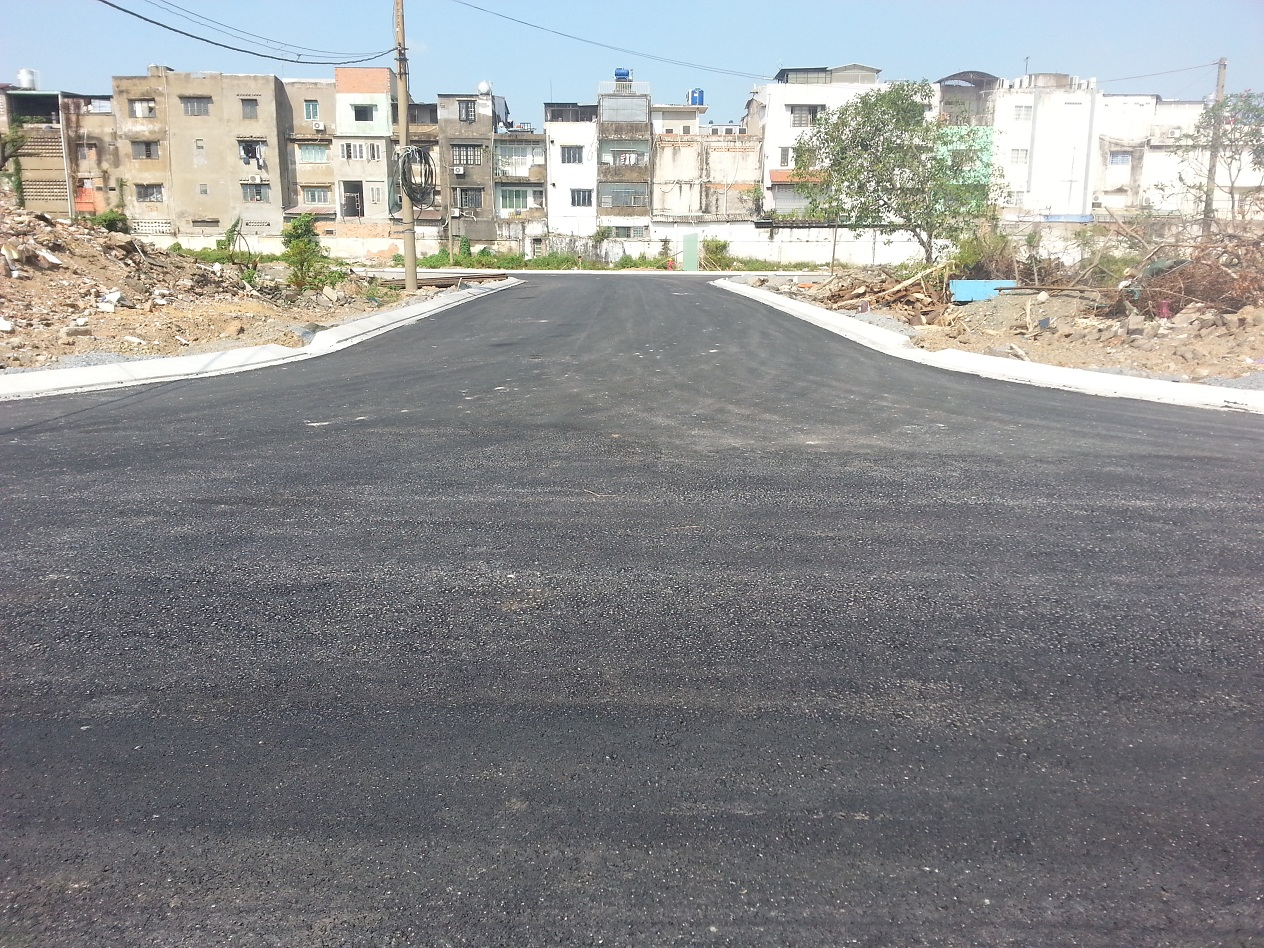 Đường D6 dự án Cityland Center Hills