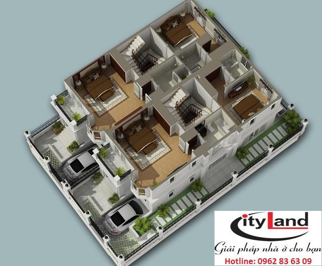 Thiết kế cityland garden hills