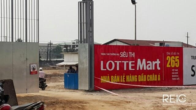 Xây dựng siêu thị Lotte Mart tại dự án Cityland Park Hills Gò Vấp