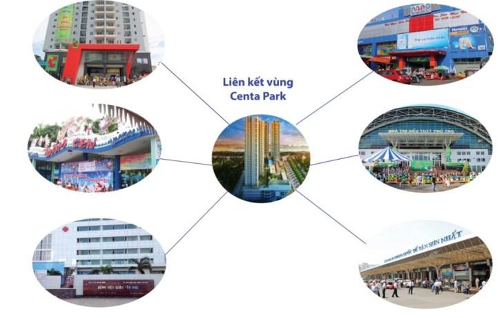 Kết nối tiện ích tại căn hộ Centa Park