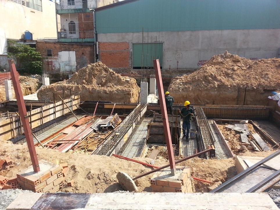 xây dựng dự án cityland center hills