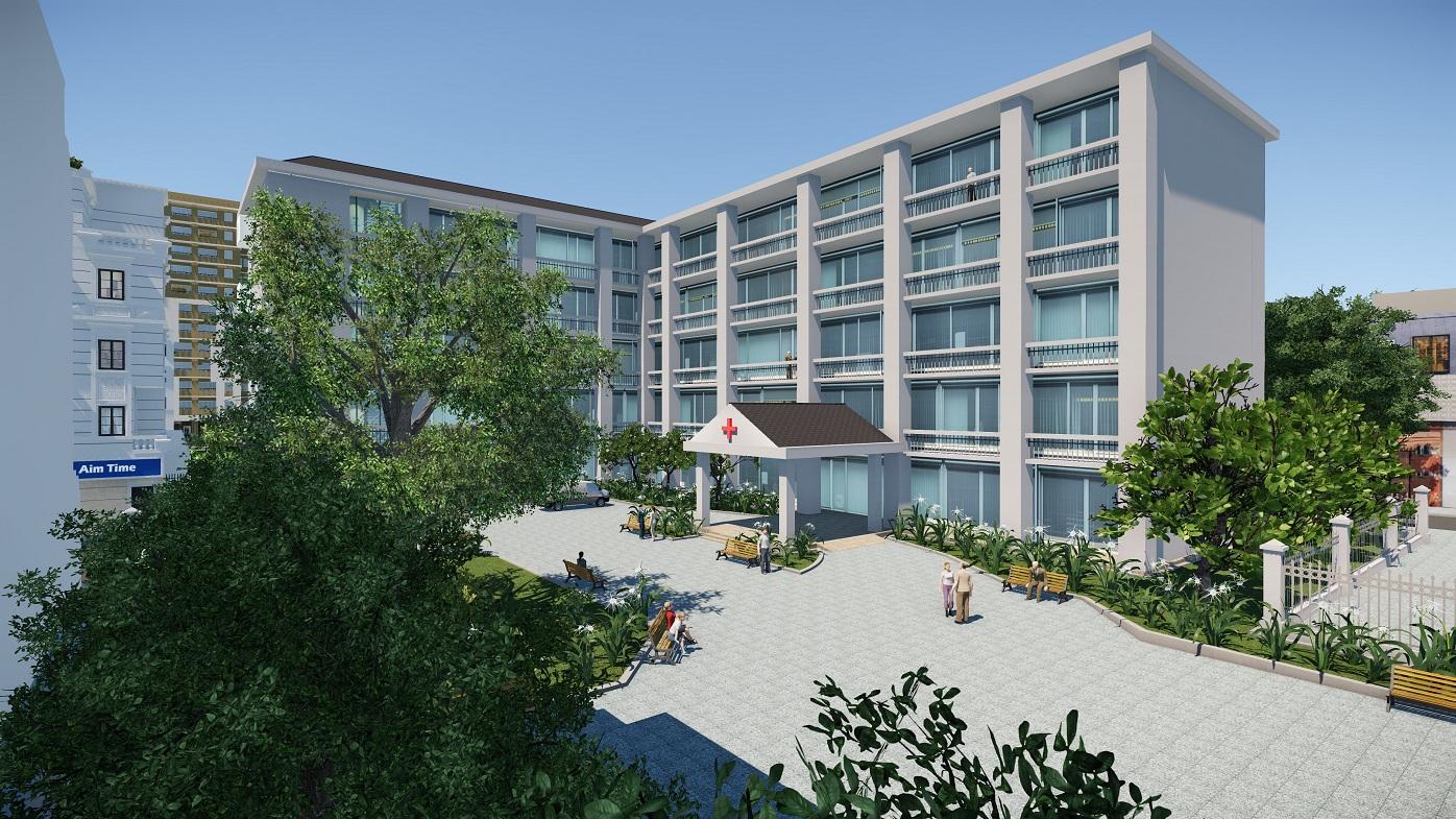 Khu chăm sóc y tế dự án Cityland park hills